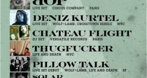 [Party] Get Down and Get With It! – dOP, Deniz Kurtel, Chateau Flight, Thugfucker, PillowTalk, Solar & Nikola Baytala (Public Works SF 9.30.11, CA)