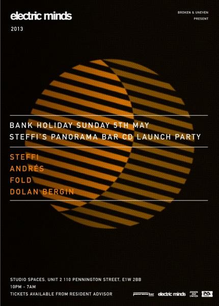 Electric Minds Steffi Panorama Bar 05 Mix CD Launch