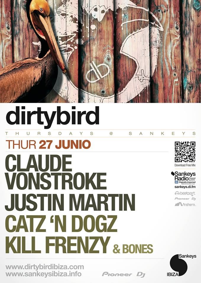 dirtybird at sankeys