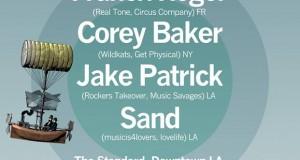 (Party) BASK:: Franck Roger, Corey Baker, Jake Patrick & SAND