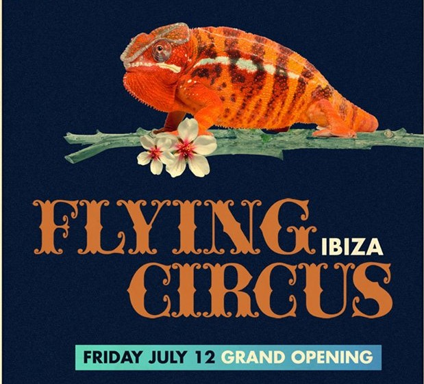 Dance Spirit Flying Circus Ibiza 7.12.13