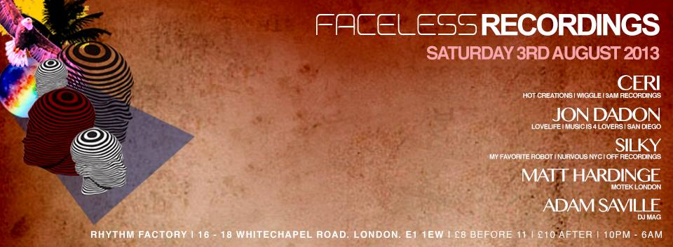 Faceless Records in London