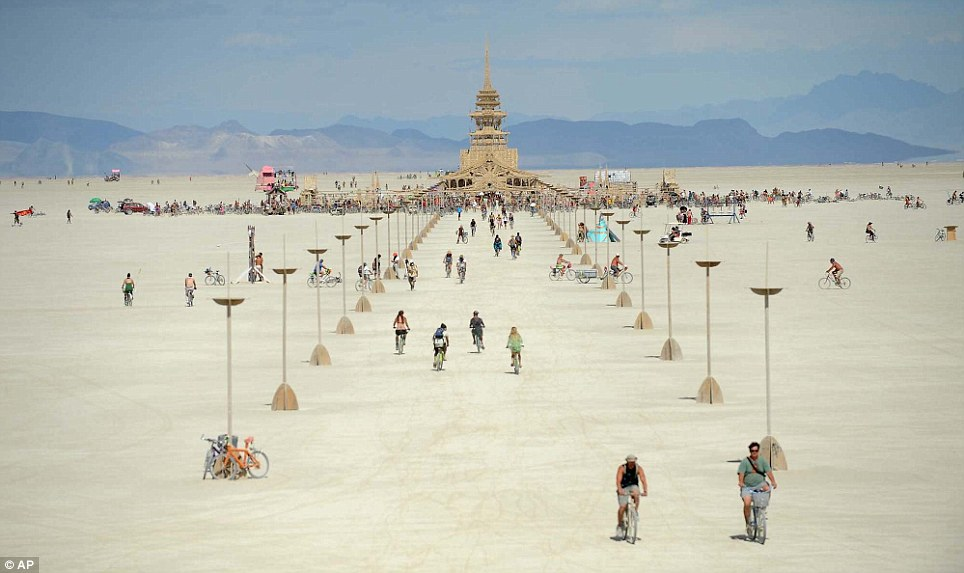 burning man, burning man temple