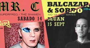 (Party) Footloose Presents Mr.C 9/14 and Balcazar & Sordo 9/15 @ La Santanera