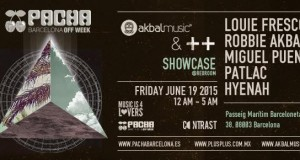 Akbal Music & Plus Plus Showcase at Pacha Barcelona