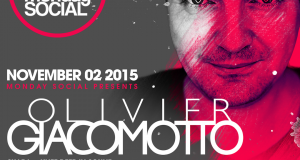 Monday Social presents Olivier Giacomotto at Sound LA (Nov 2)