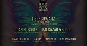 TICKET GIVEAWAY! CapsuleM w/ Tiefschwarz, Daniel Bortz, Balcazar & Sordo, and more…