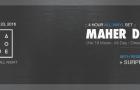 TICKET GIVEAWAY! DIALOGUE Feat. Maher Daniel (4 Hour All Vinyl Set)