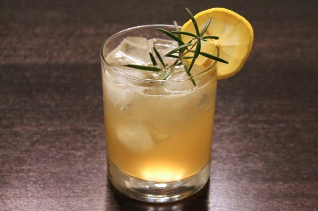 bulleit ginger cocktail