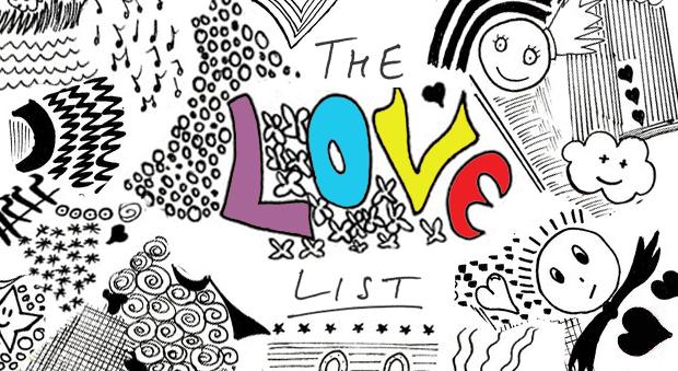 The Love List – Top 20 Tracks January 2016