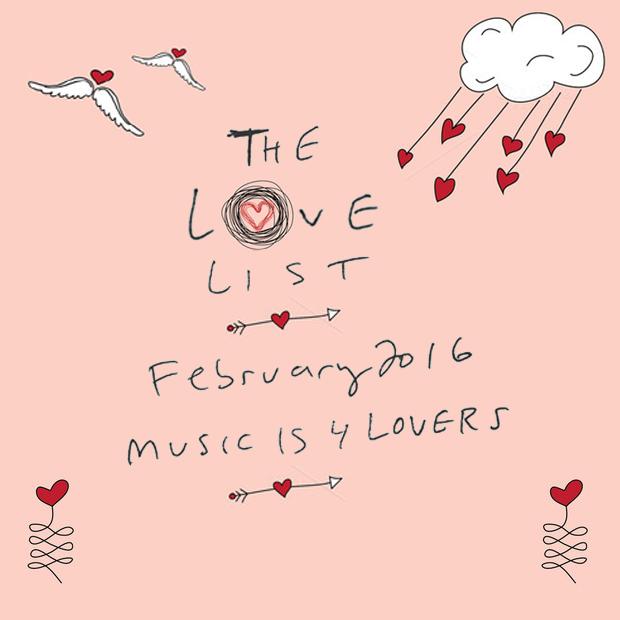 love list feb 16