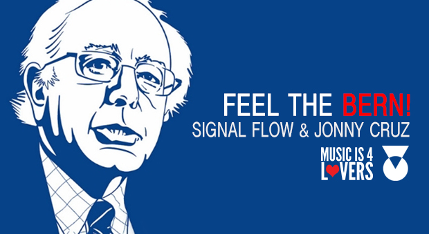 feel the bern free dl cover