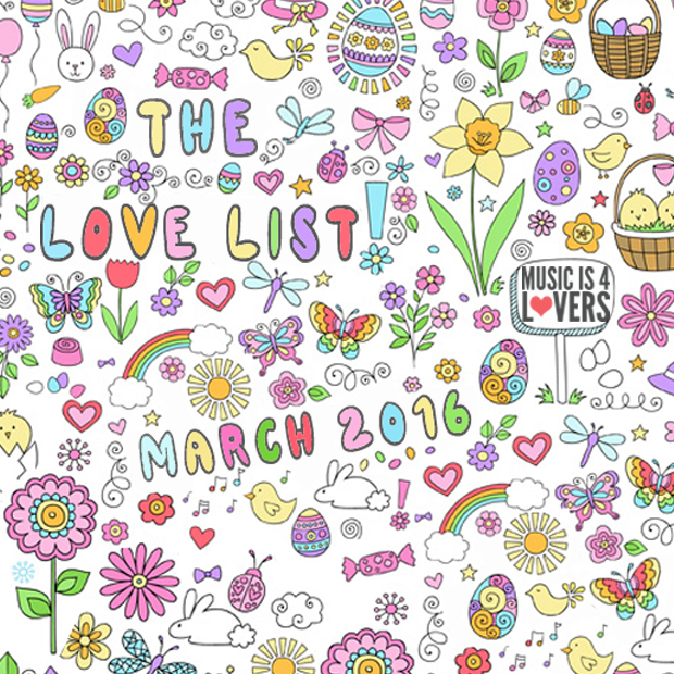 love list march 2016