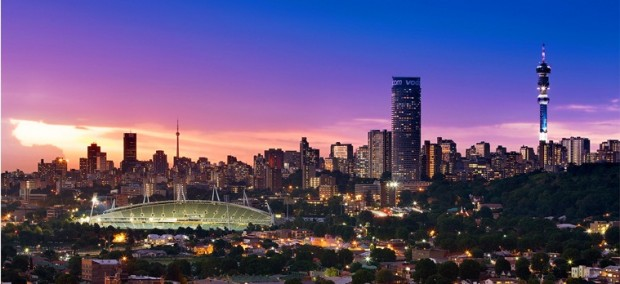 Johannesburg-Sunset