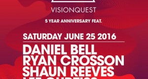 TICKET GIVEAWAY! Visionquest 5 Year Anniversary