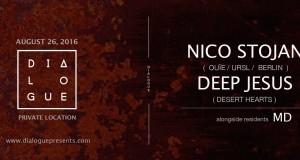 TICKET GIVEAWAY!!!  Dialogue feat. Nico Stojan (LA Debut)