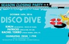 TICKET GIVEAWAY!!! Disco Dive Season Closer w/ KMLN, Patricio & Rachel Torro
