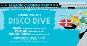 TICKET GIVEAWAY!!! Disco Dive Season Closer w/ KMLN, Patricio & Rachel Torro