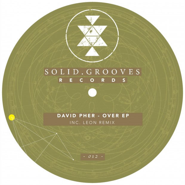 SGR012 David Pher - Over EP Artwork