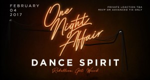 TICKET GIVEAWAY!!! One Night Affair feat. Dance Spirit Live