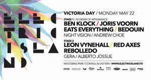 Electric Island Kicks Off 5/22 – Woodbine Park